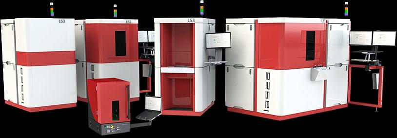 Nos machines laser