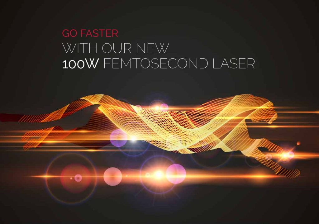 Datasheet «New laser source 100W – 300µJ»
